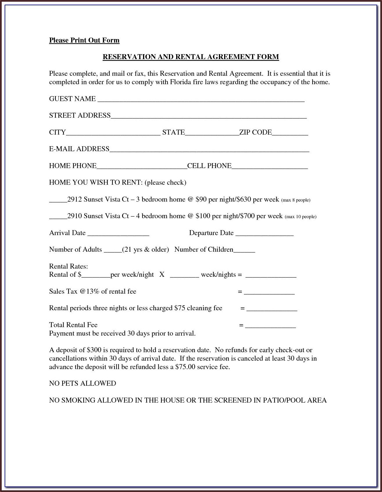 T186 Blumberg Lease Form