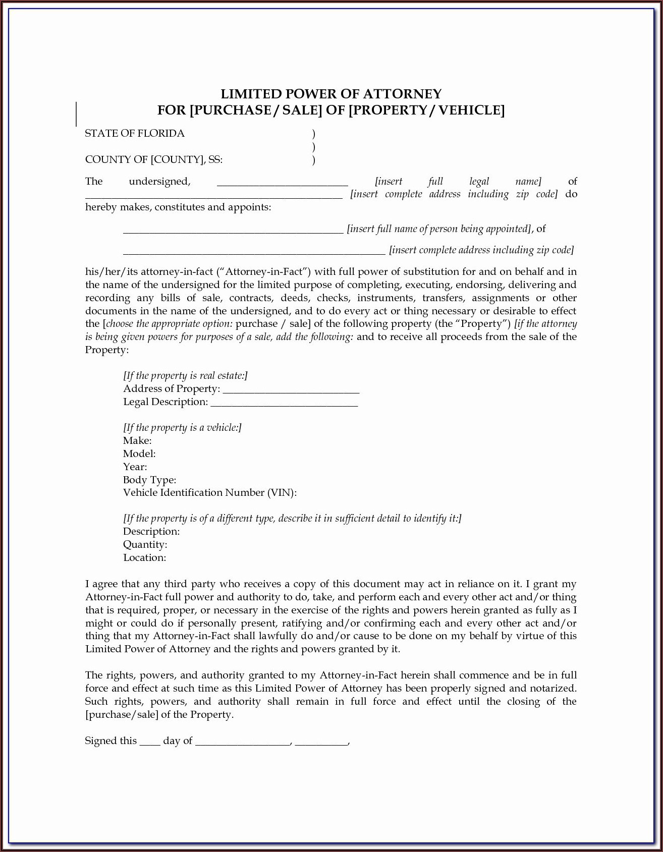 Temporary Guardianship Forms Texas For School