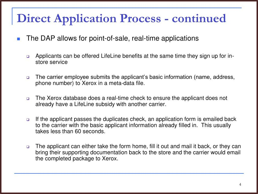 Texas Lifeline Recertification Form