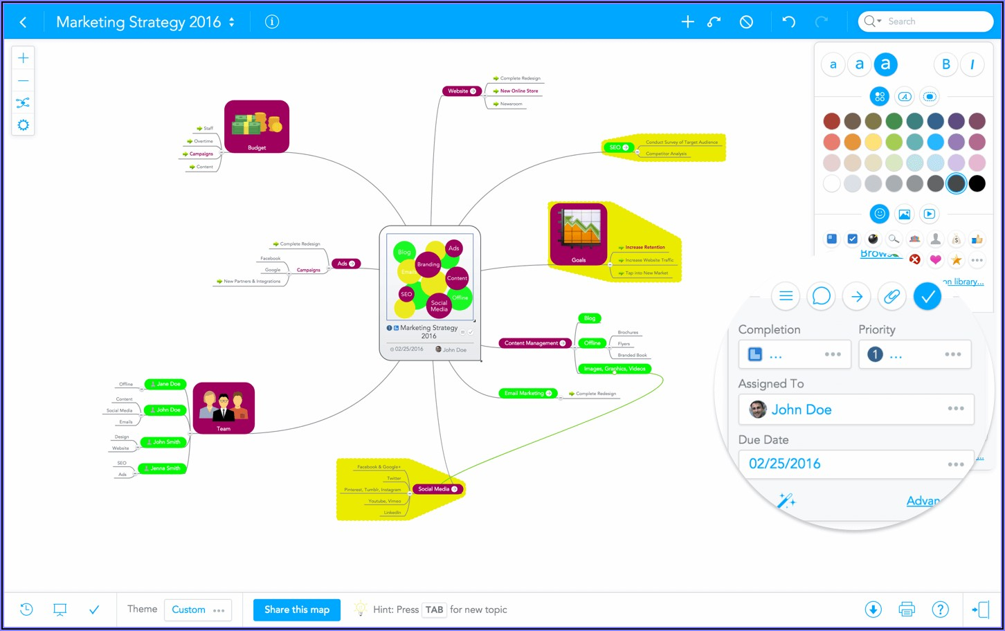 Top Mind Mapping Software 2019
