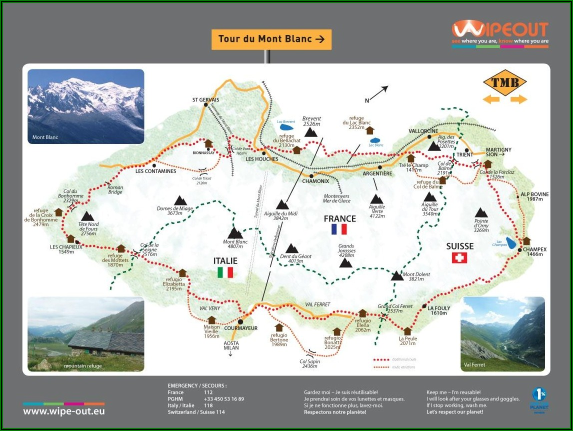 Tour Du Mont Blanc Map App