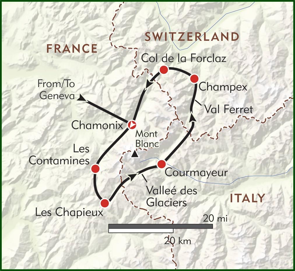 Tour Du Mont Blanc Maps.me