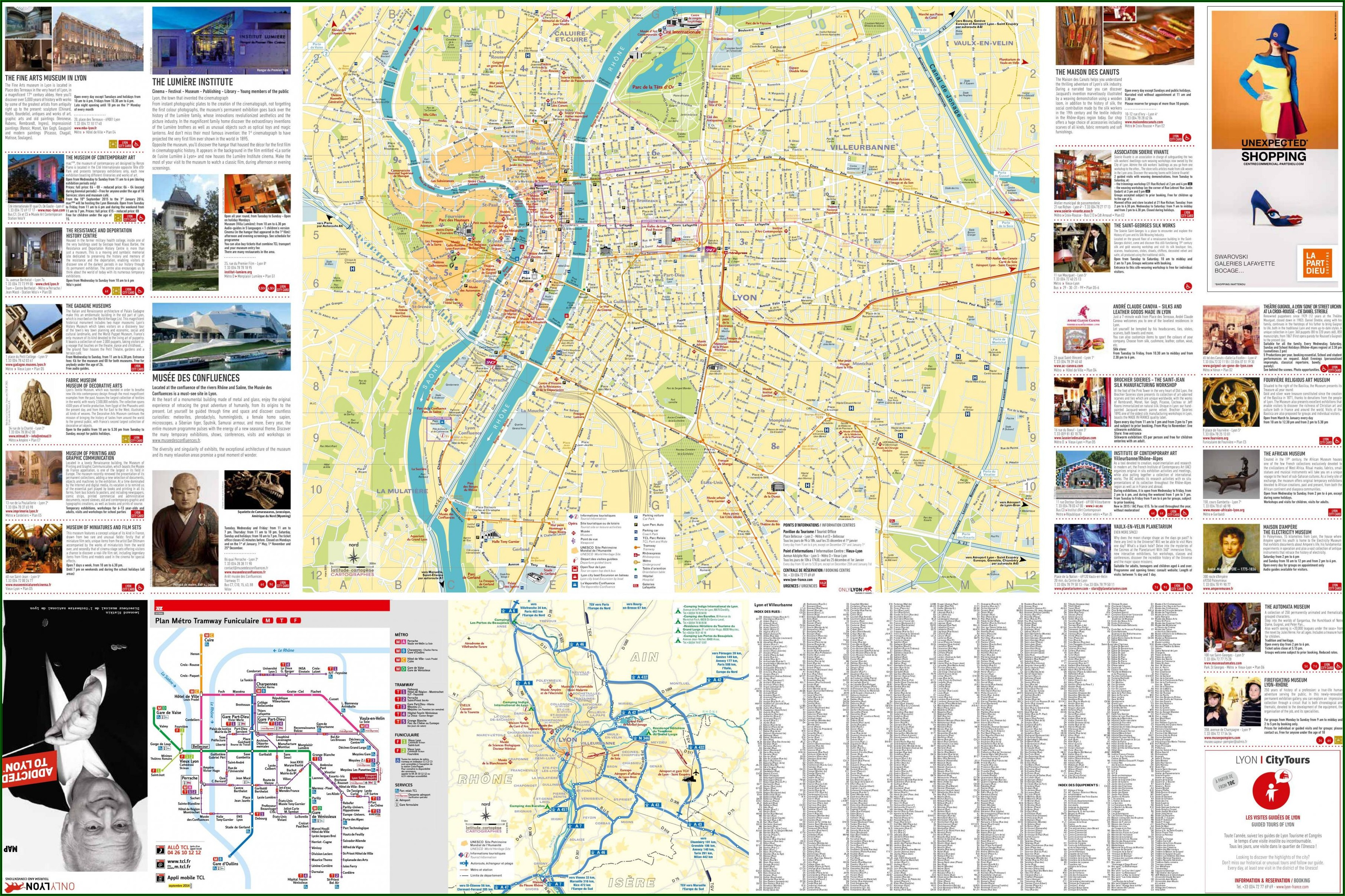 Tourist Map Of Paris Free Download