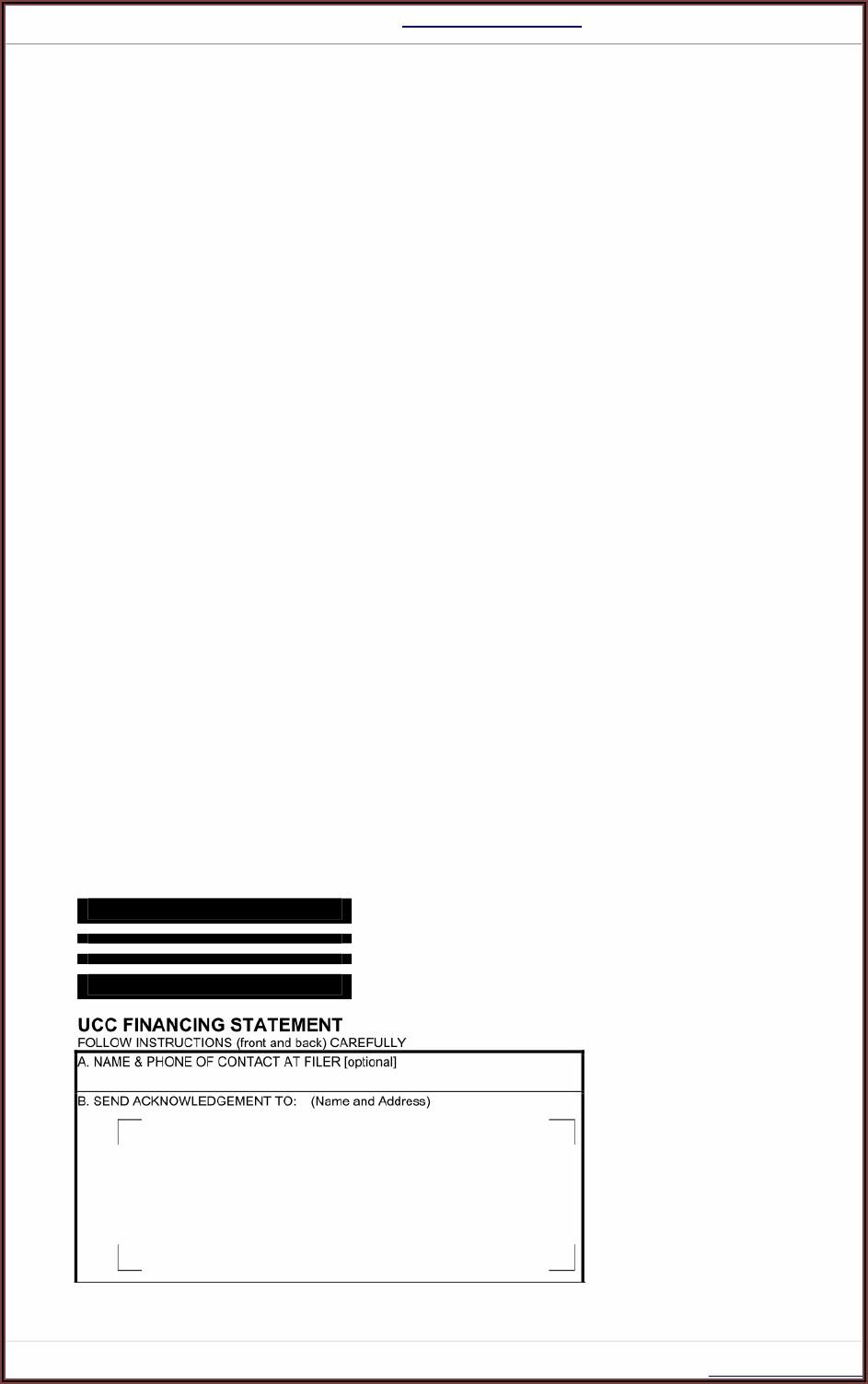 Ucc Filing Form Ohio