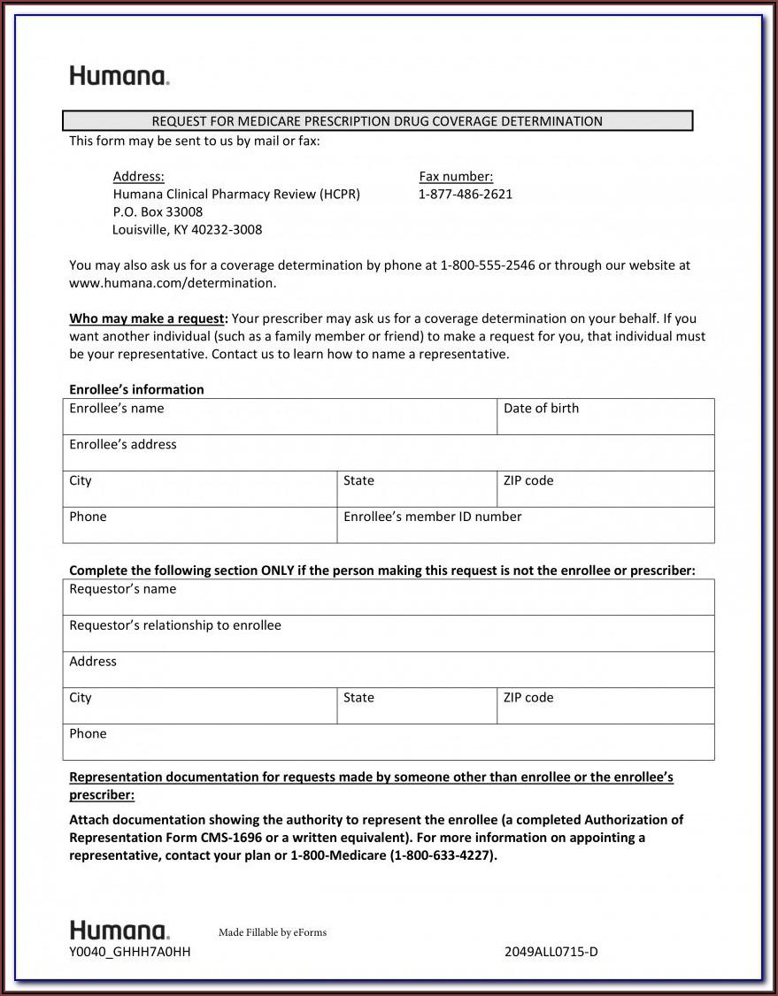 Unitedhealthcare Medicare Prior Auth Form For Medication