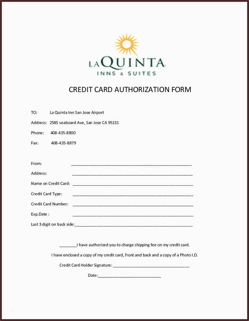Vendor Ach Authorization Form Template