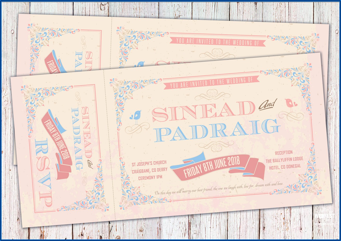 Vintage Wedding Invitations Ireland