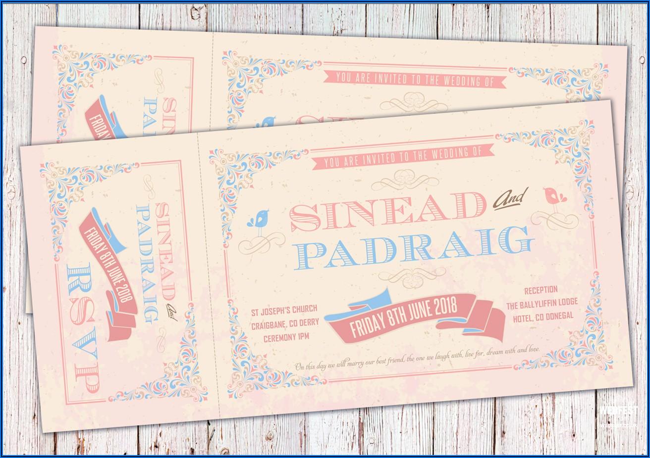 Vintage Wedding Invitations Ireland