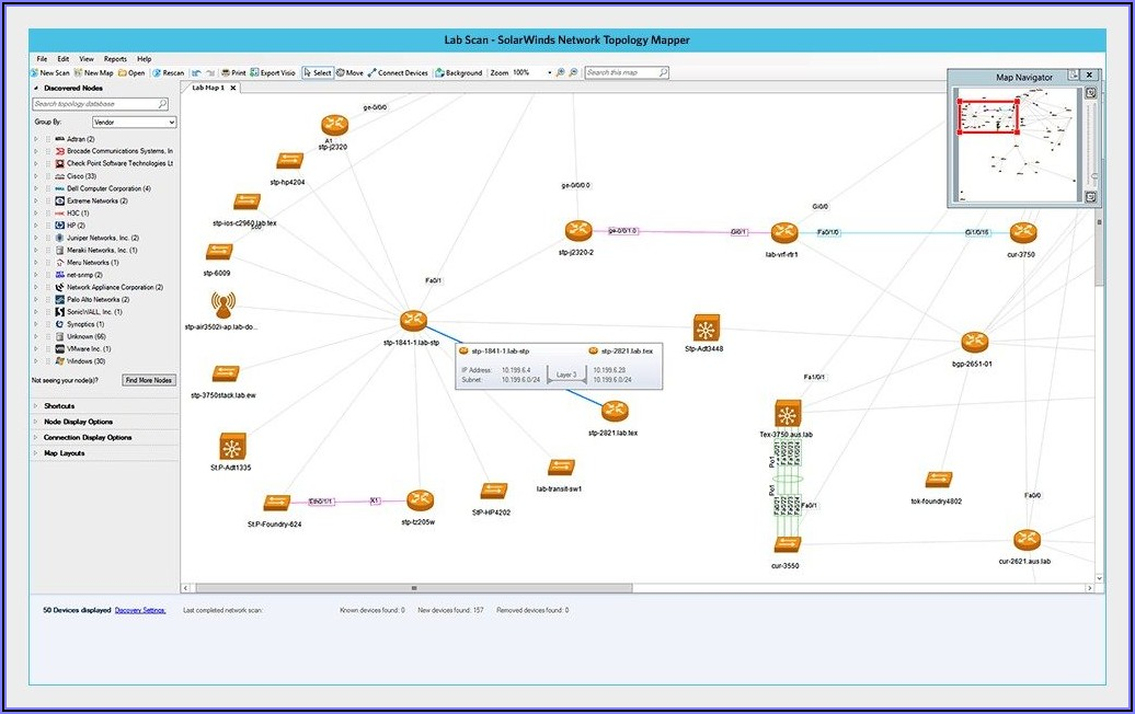 Visual Network Mapping Software