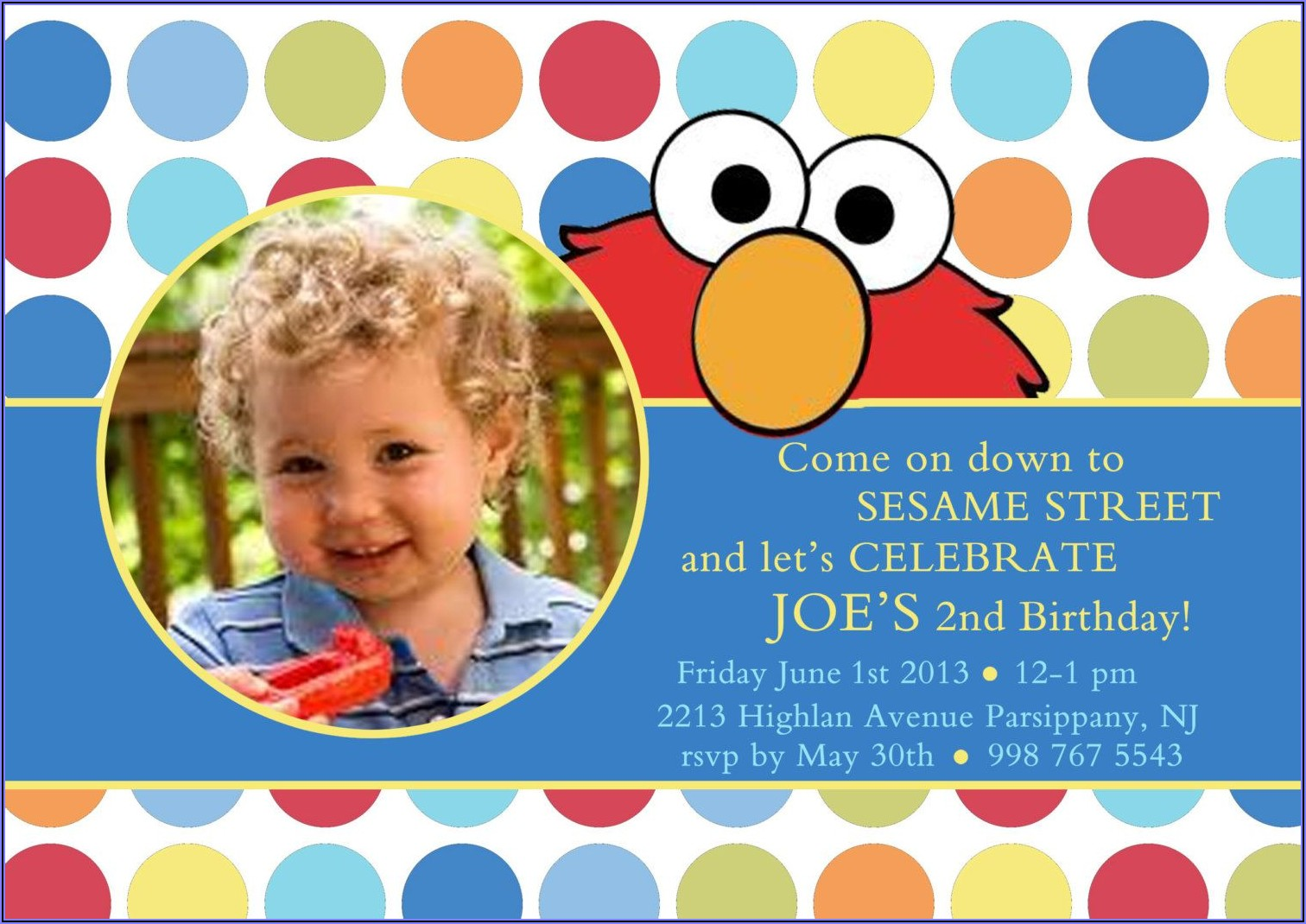 Walgreens Photo First Birthday Invitations