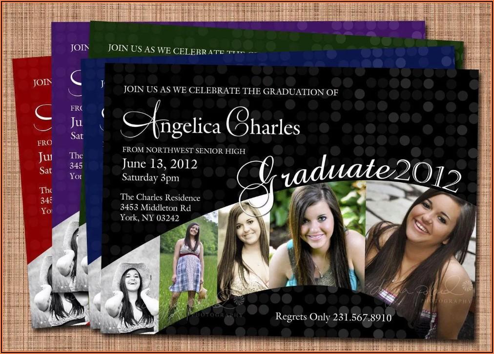 Walmart Graduation Invitations Photo