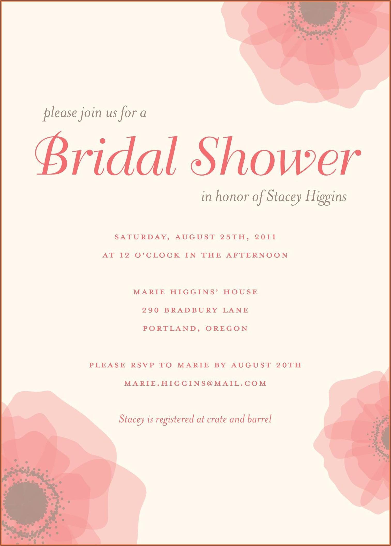 Walmart Photo Wedding Shower Invitations