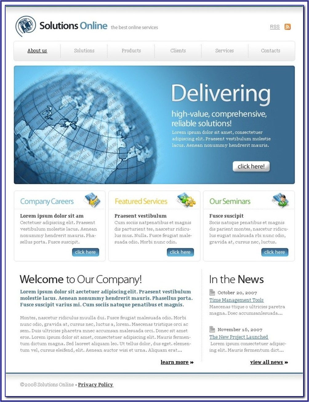 Website Redesign Rfp Example