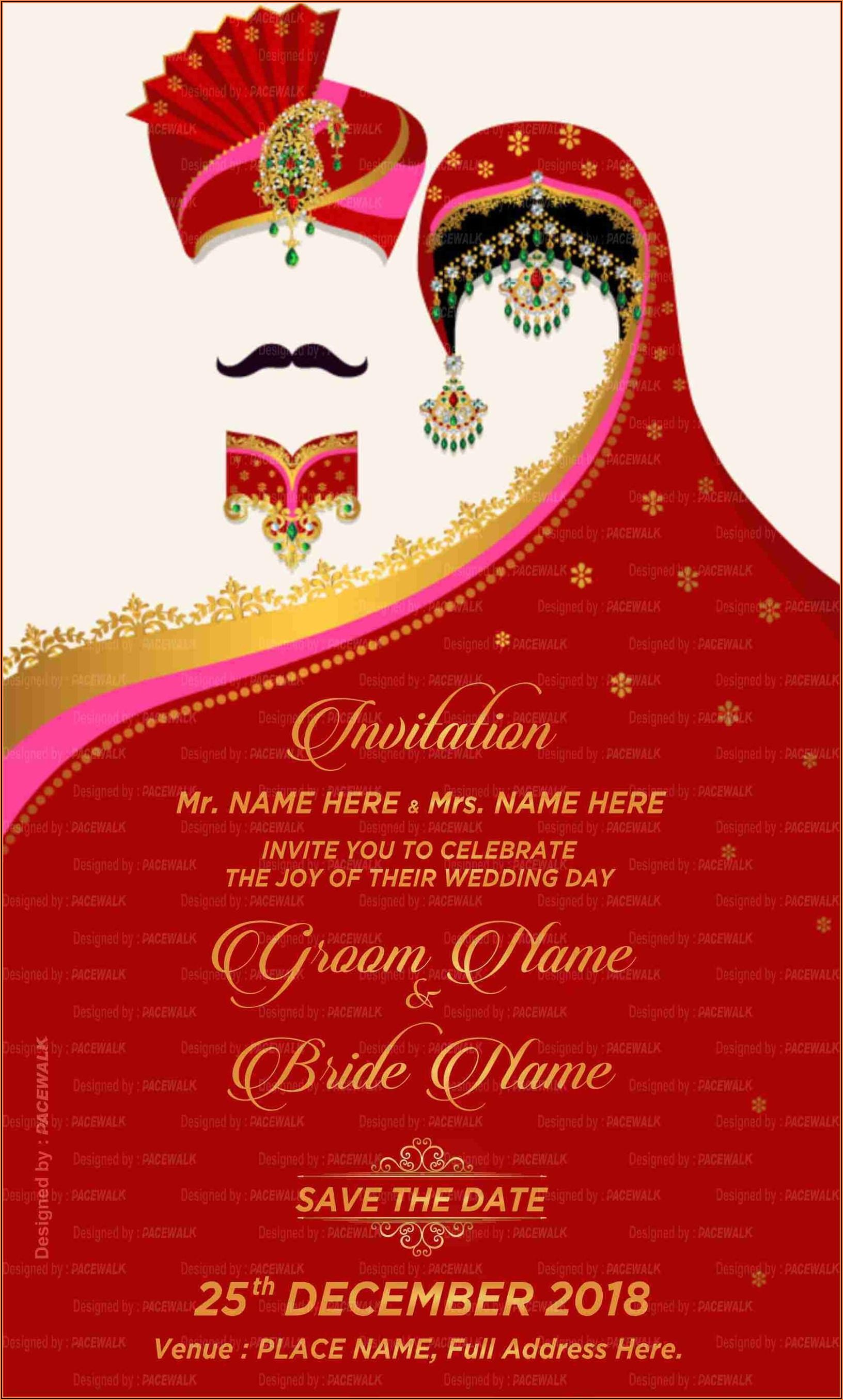 Wedding Invitation Maker Indian