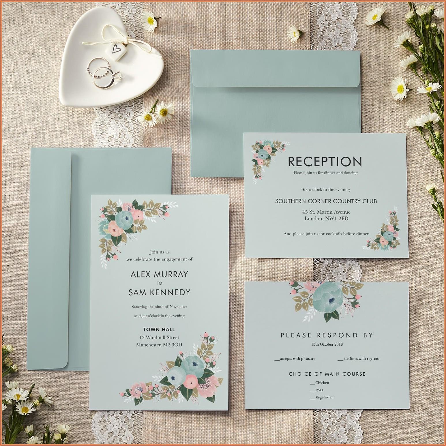Wedding Invitation Packs 50 Uk