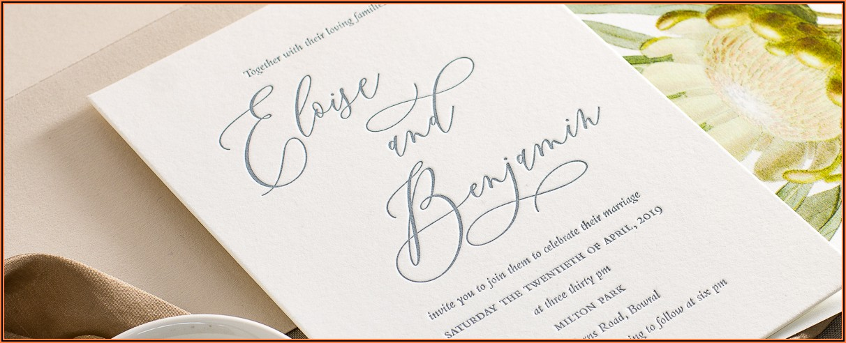 Wedding Invitation Packs Australia