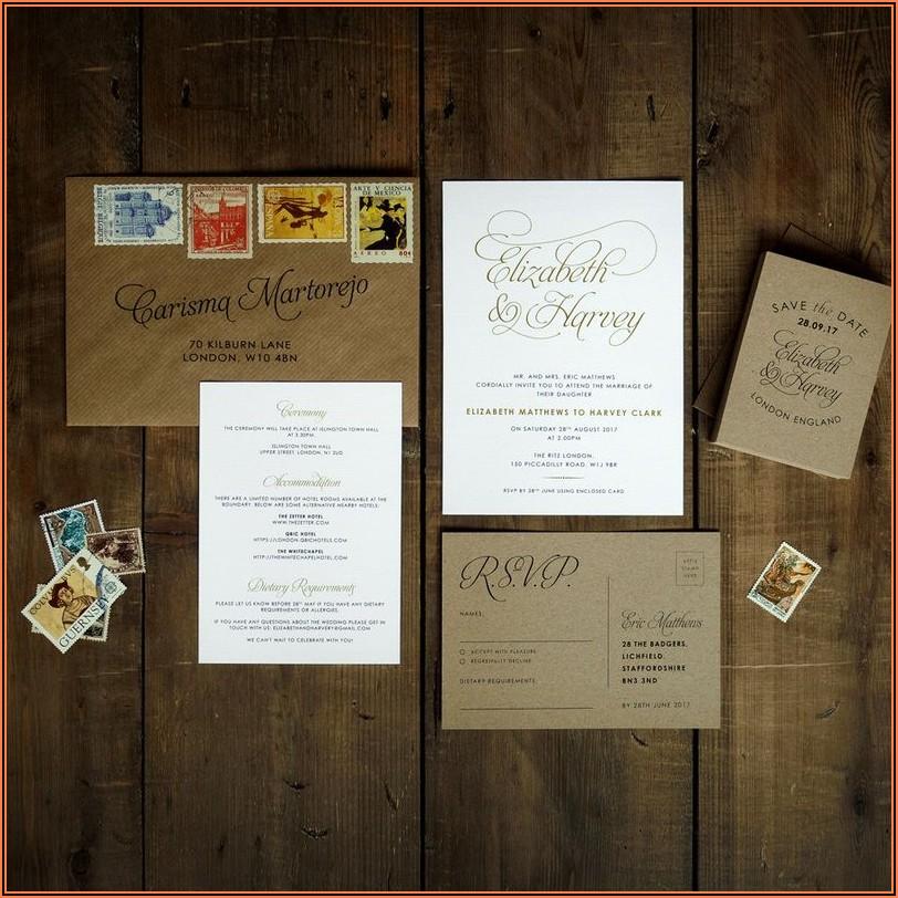 Wedding Invitation Sets Uk