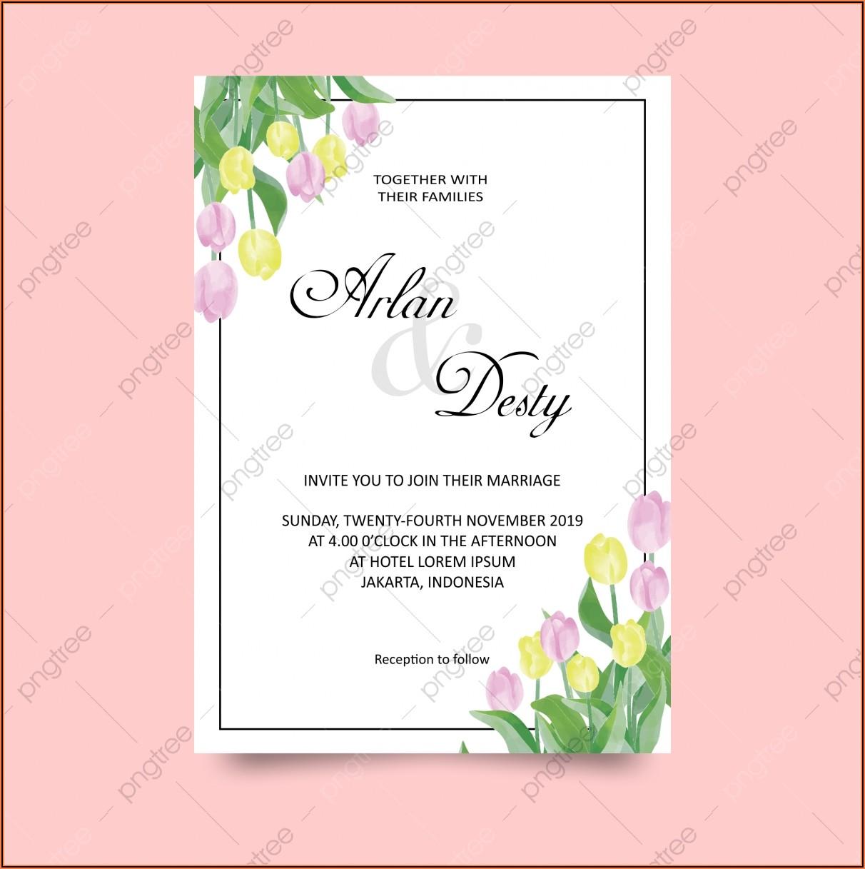 Wedding Invitation Templates Pngtree