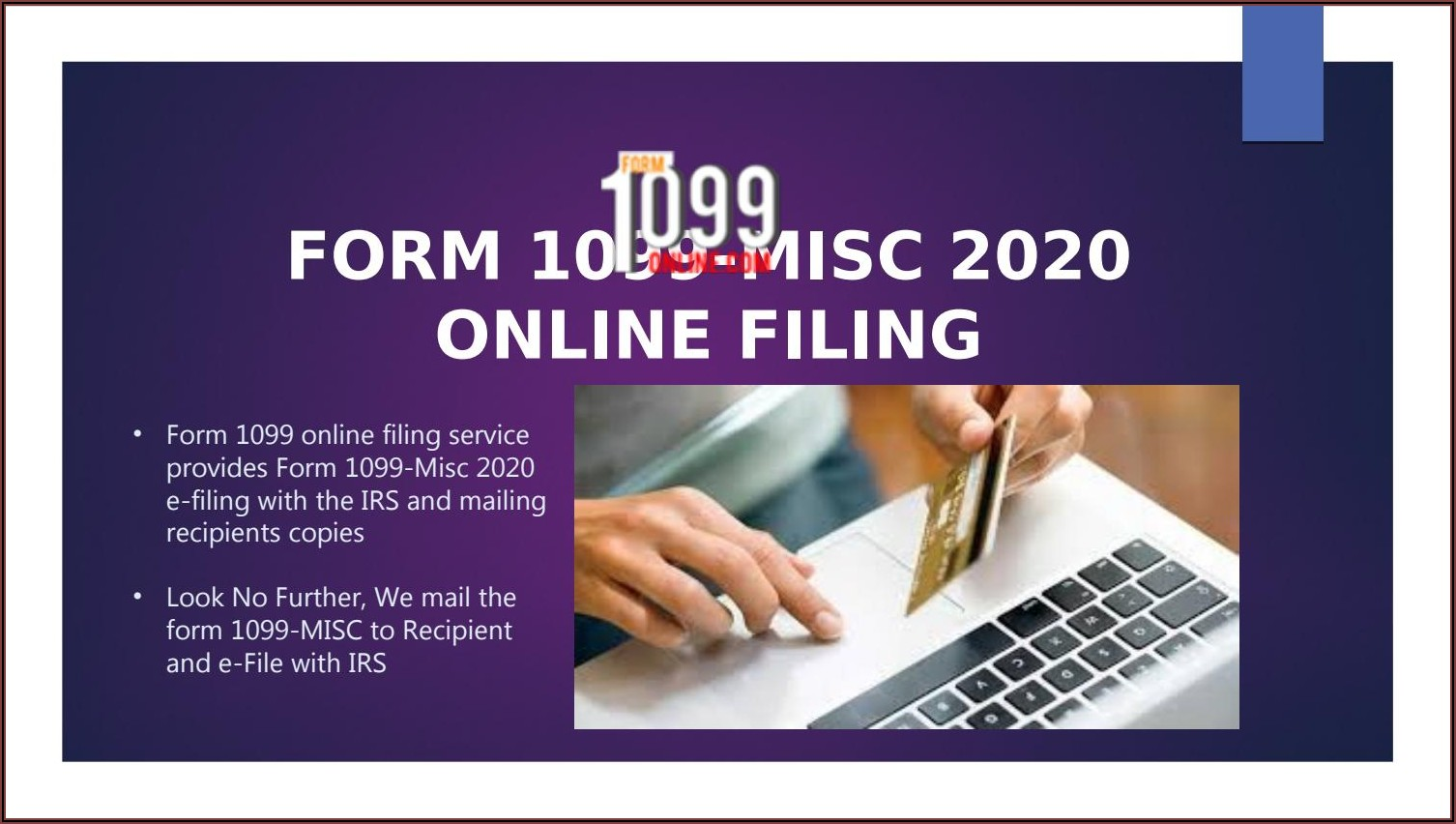 Where Can I Get Irs Form 1099 Misc