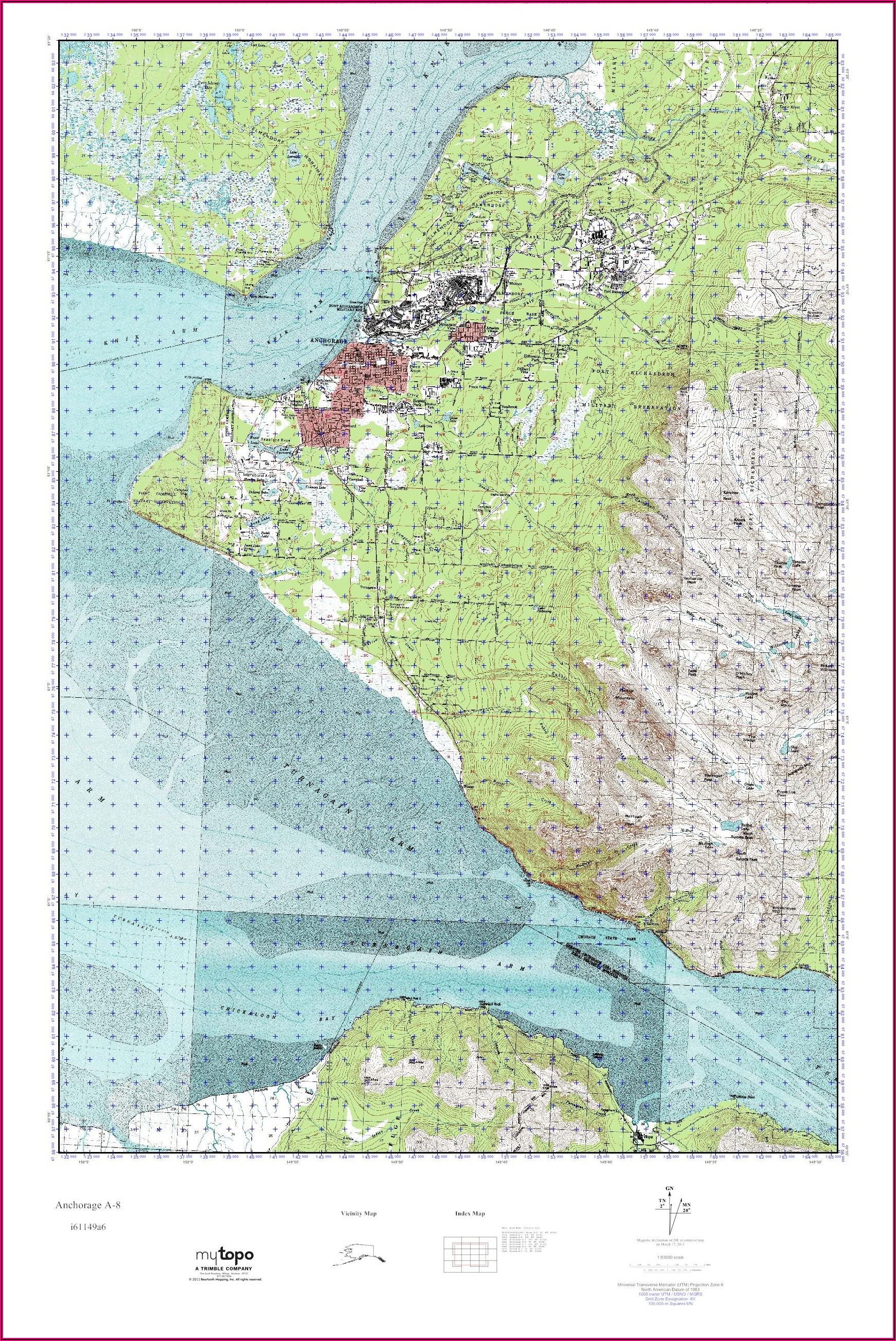 Where To Buy Topo Maps In Anchorage