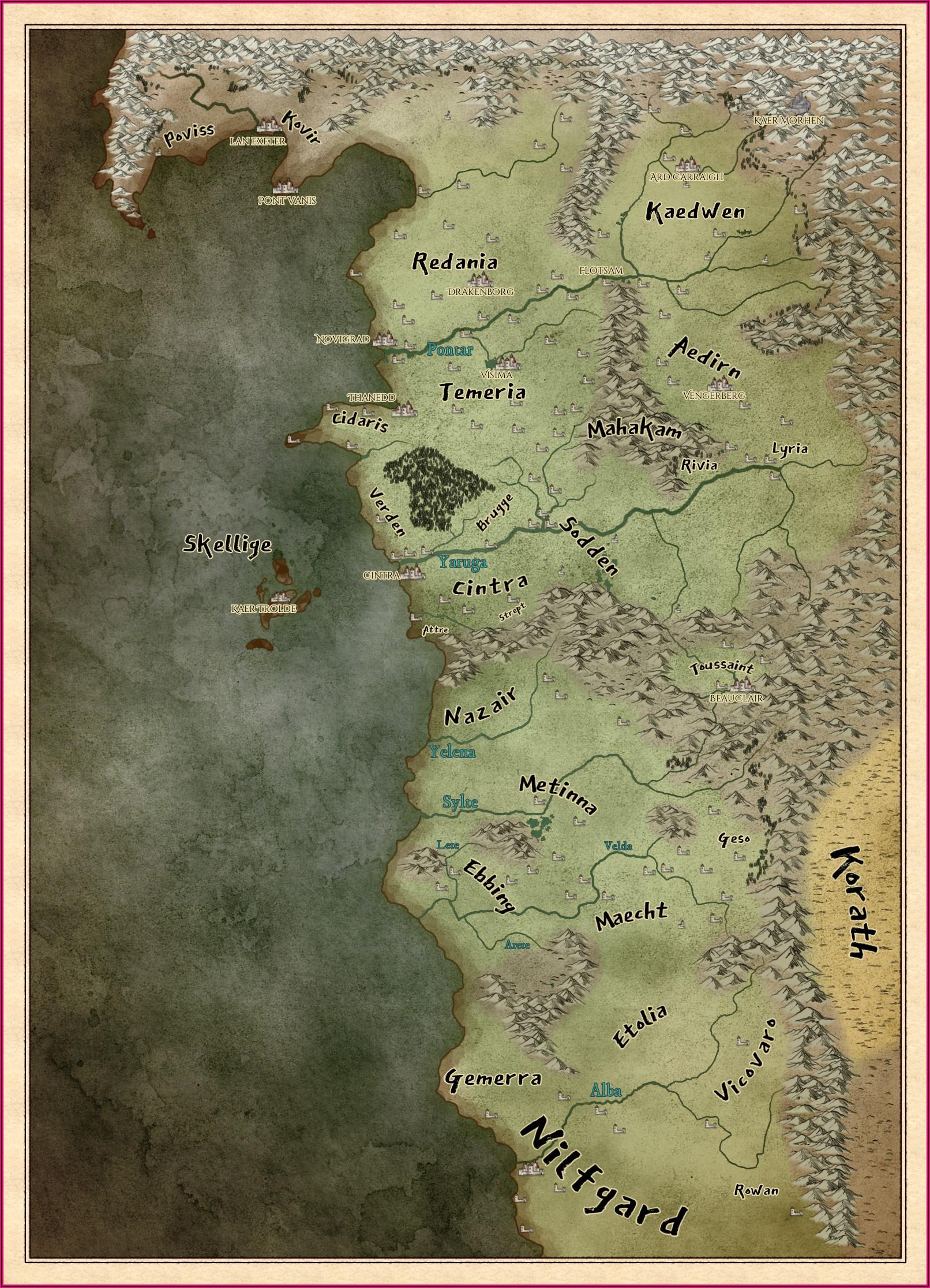 World Map Books