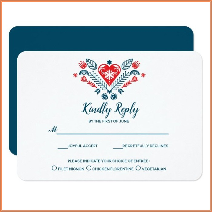 Zazzle Wedding Invitations With Rsvp