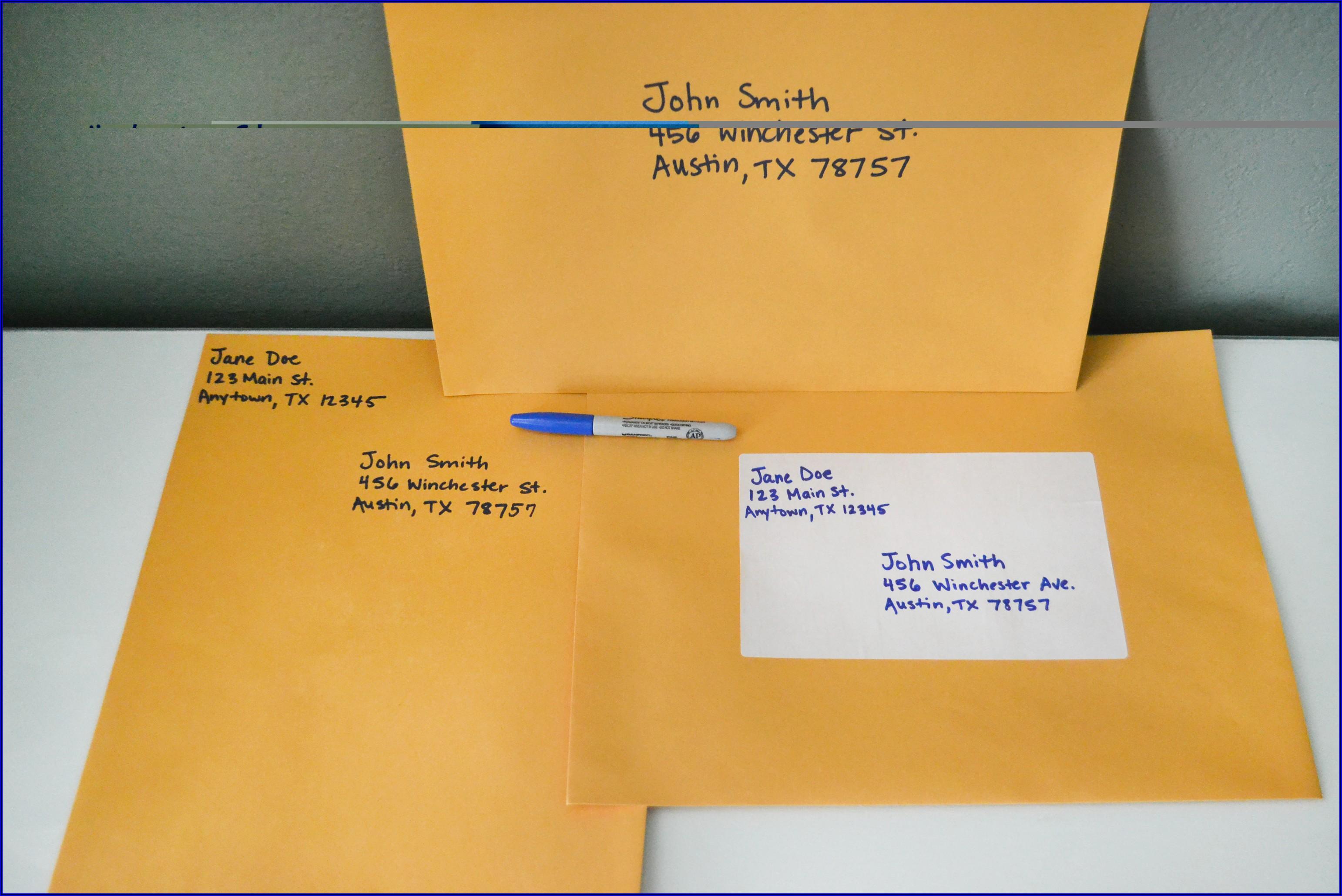 9x12 Manila Envelope Postage