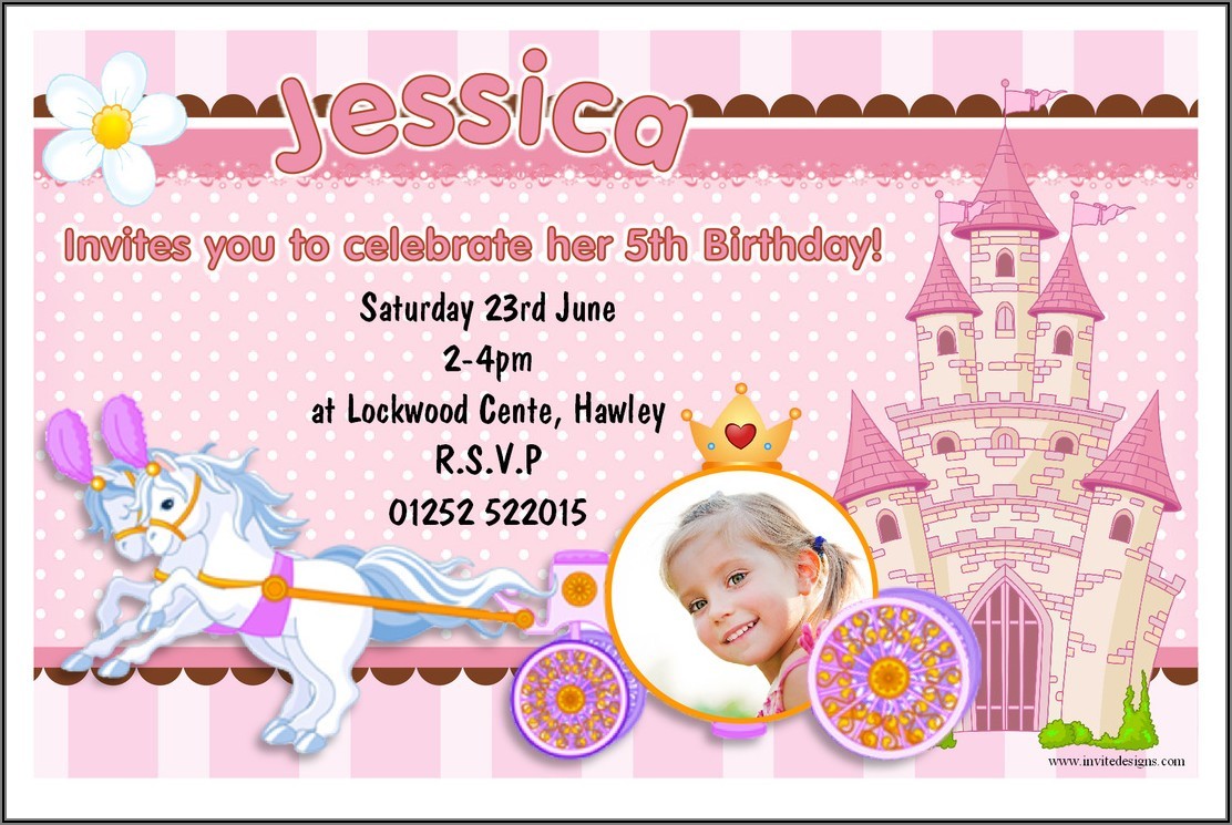Baby Girl 1st Birthday Invitation Card In Marathi