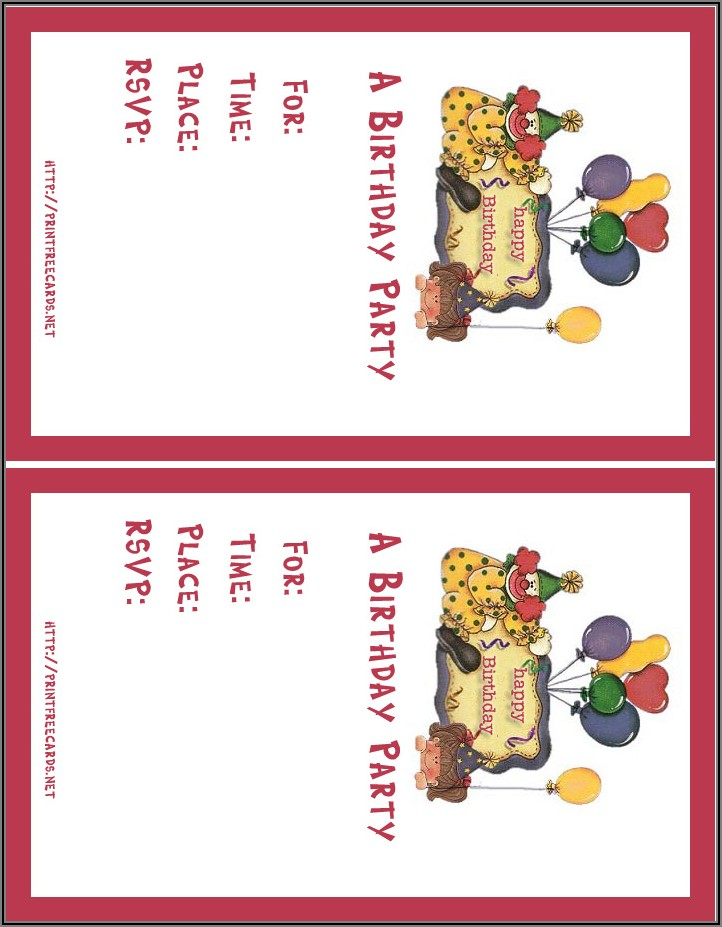 Birthday Invitation Card Maker Online Free India
