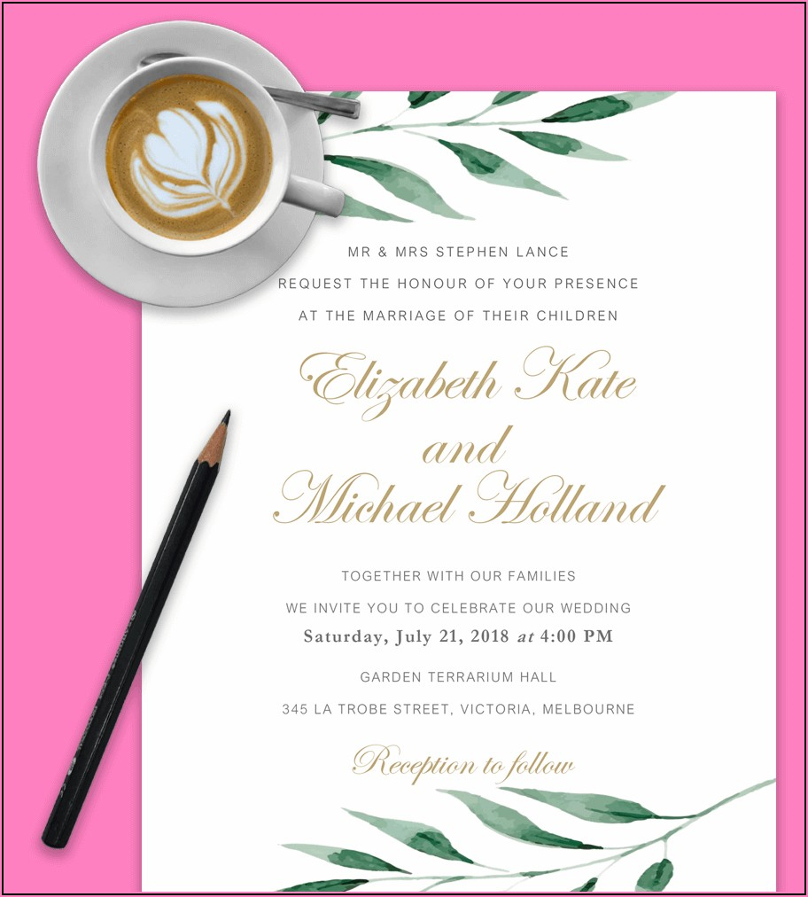 Build Your Own Wedding Invitations Online Free