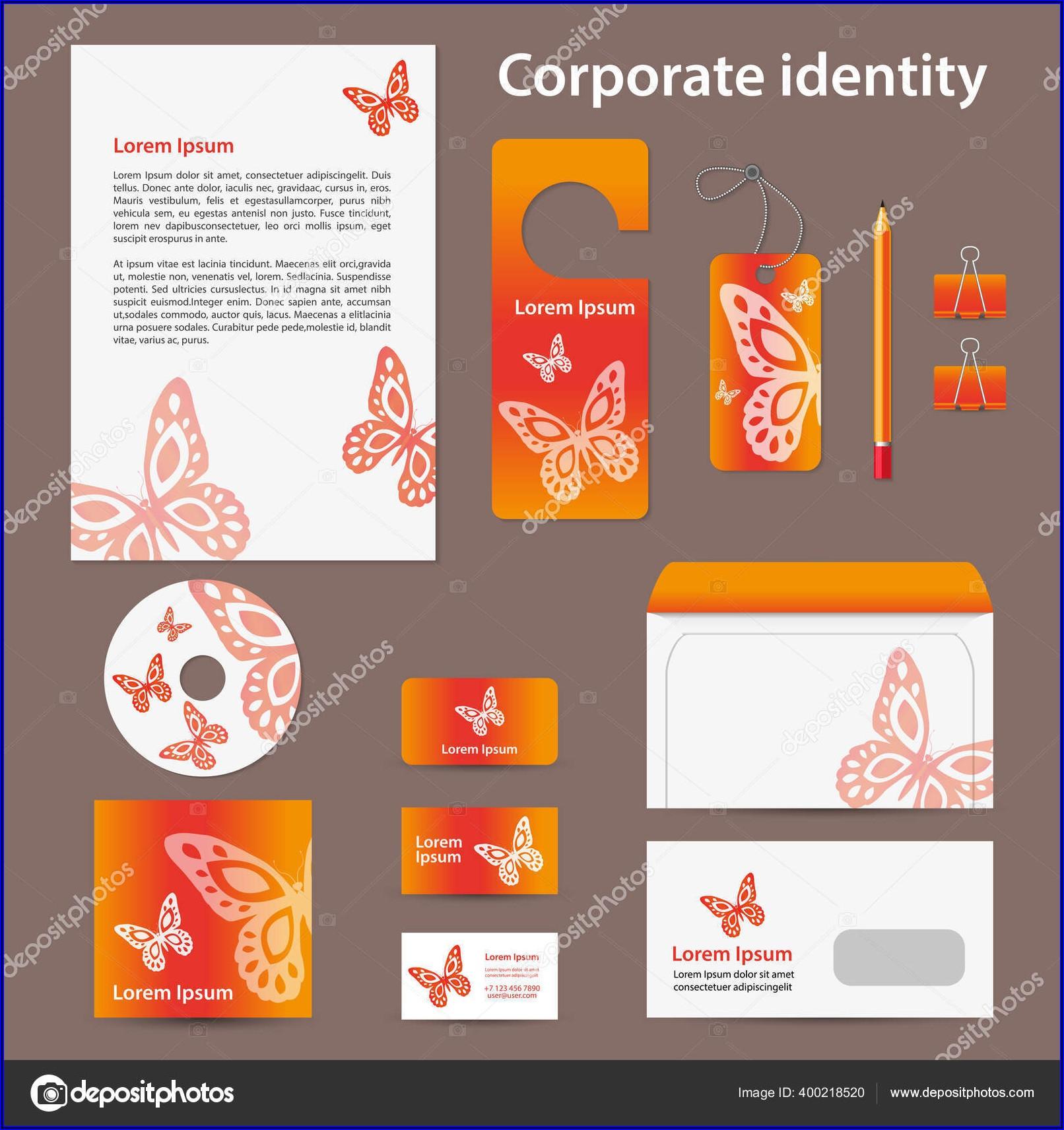 Business Envelope Printing Template