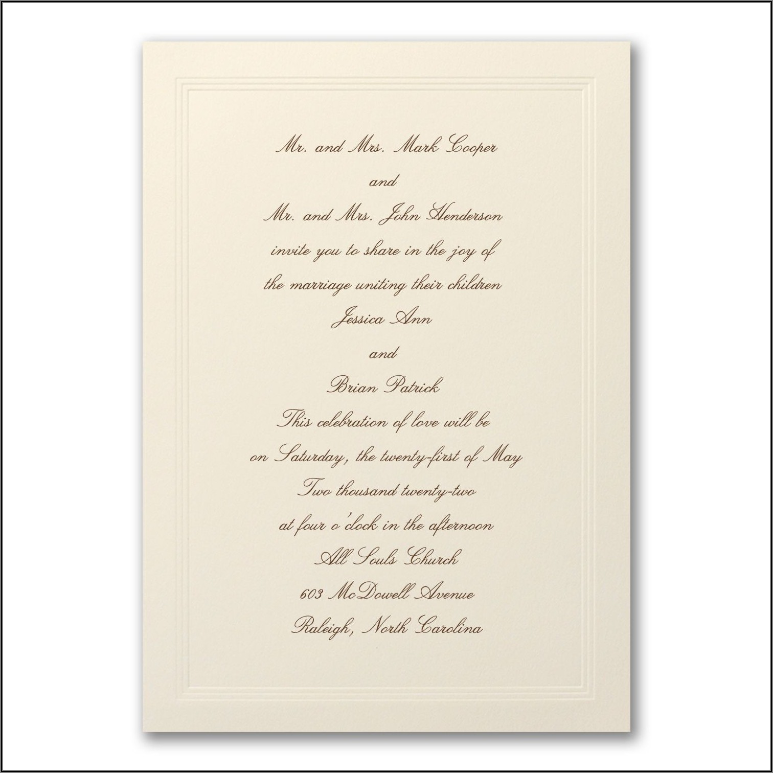 Carlson Craft Wedding Invitations Reviews