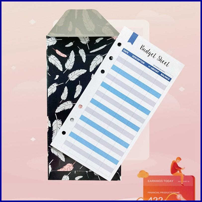 Cash Envelopes For Budgeting
