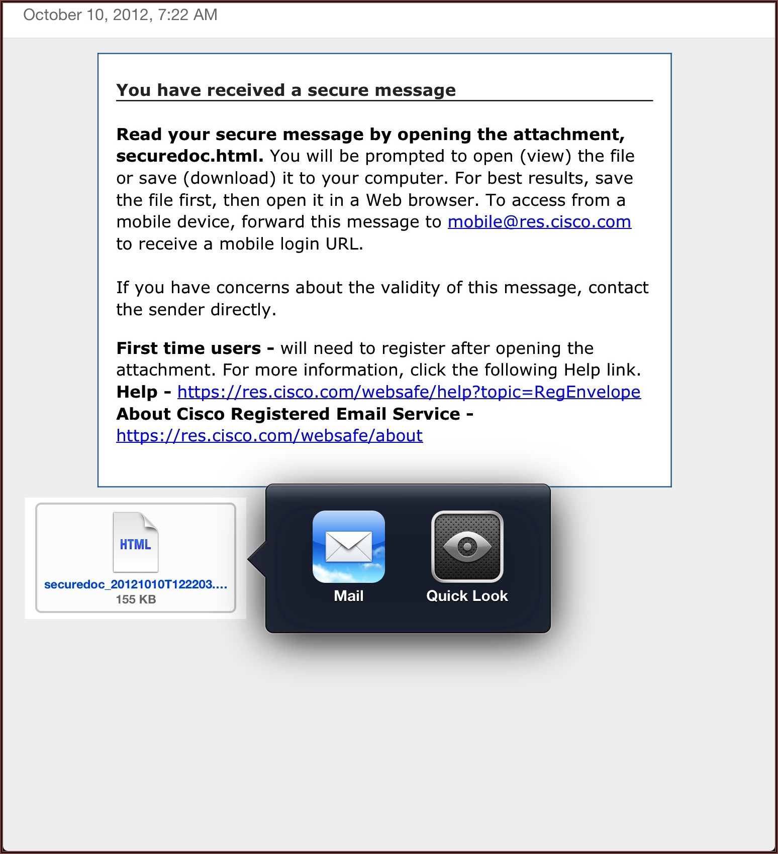 Cisco Registered Envelope Service You Must Have Cookies Enabled To Log In