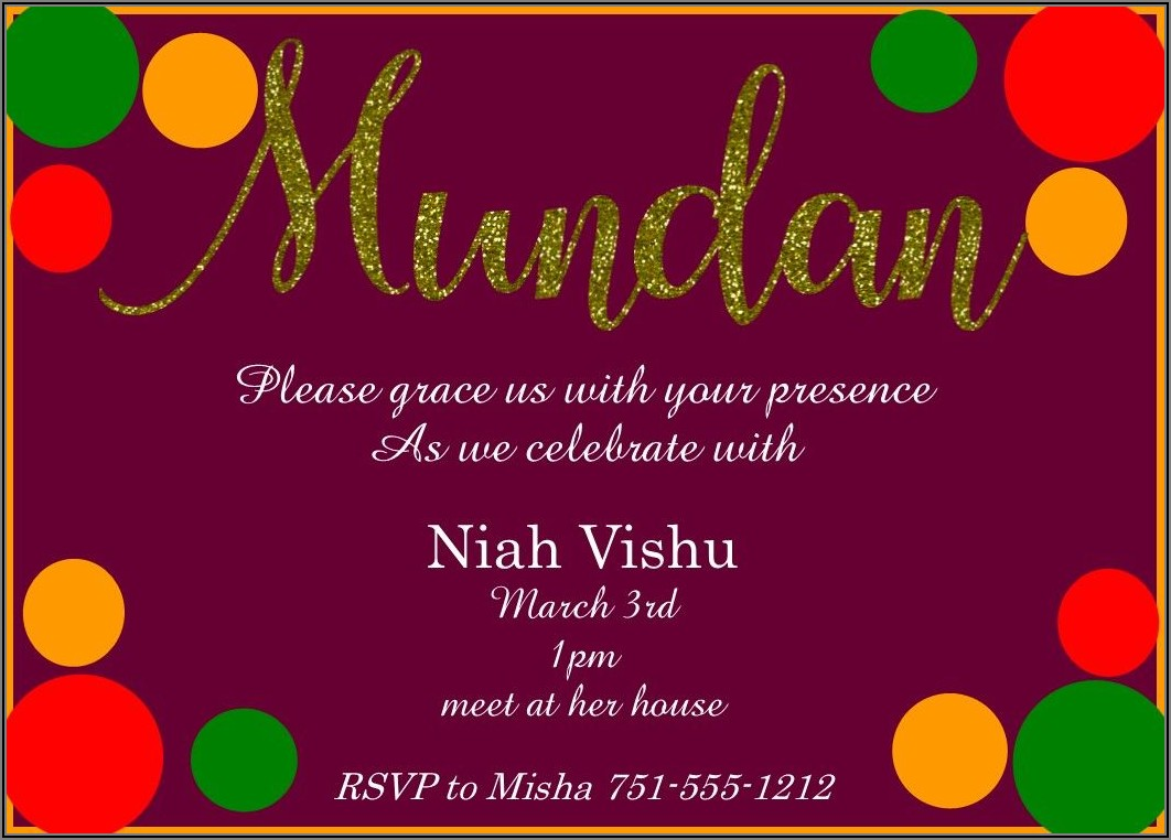 Create Birthday Invitation Card Online Free Hindi