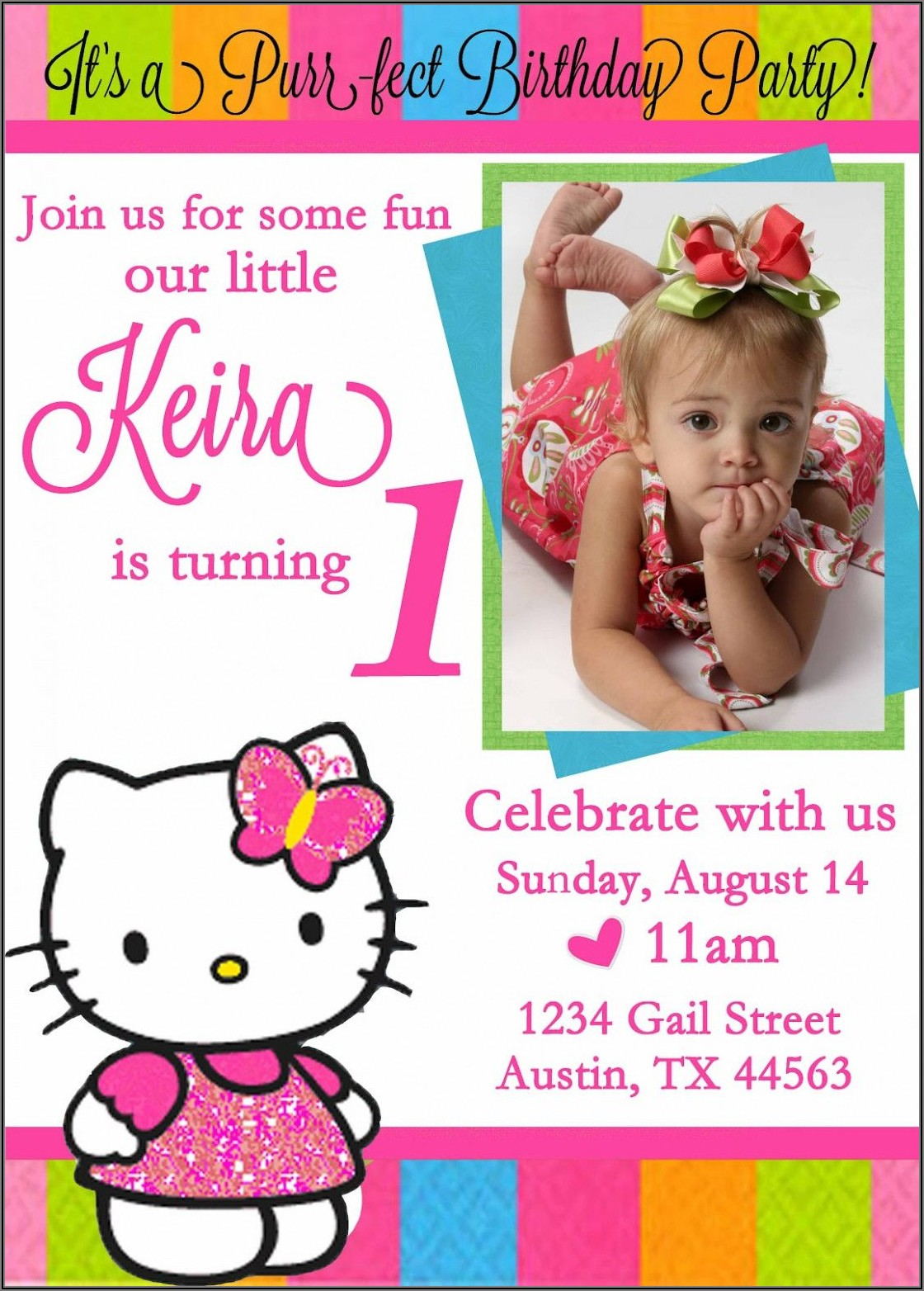 Create Birthday Invitation Card Online Free
