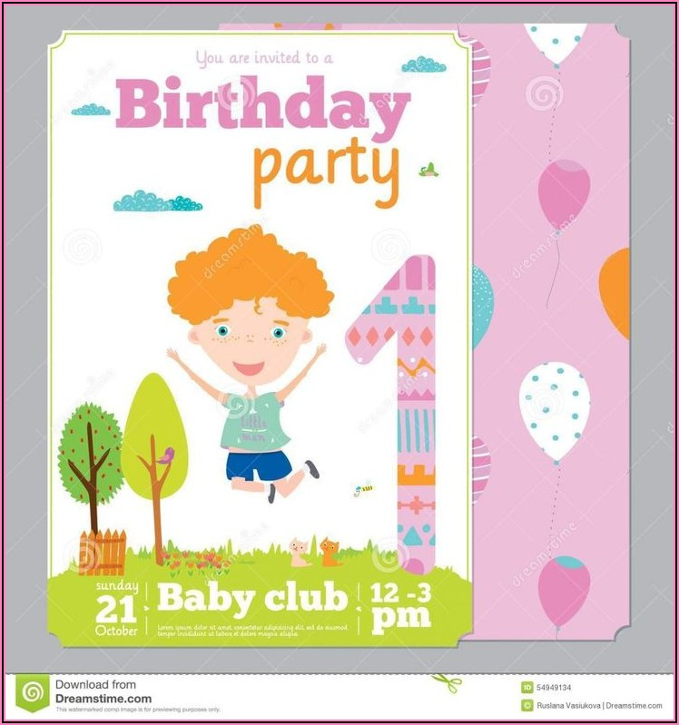 Create Birthday Invitation Card With Photo Free