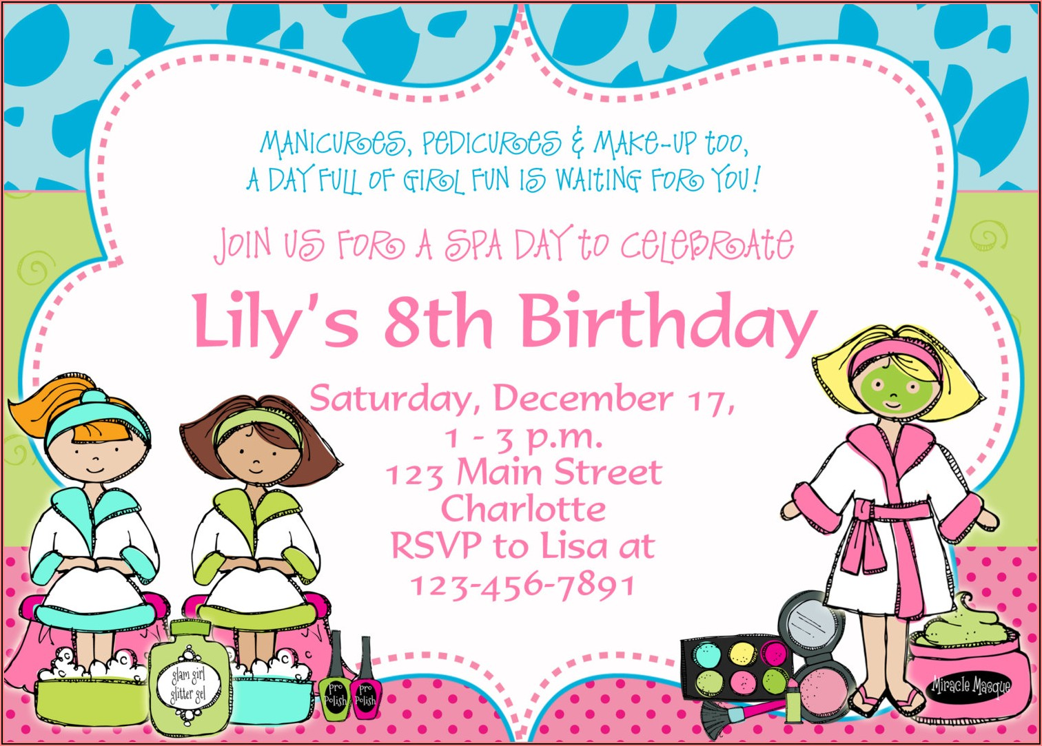 Create Birthday Invitations With Photo Free