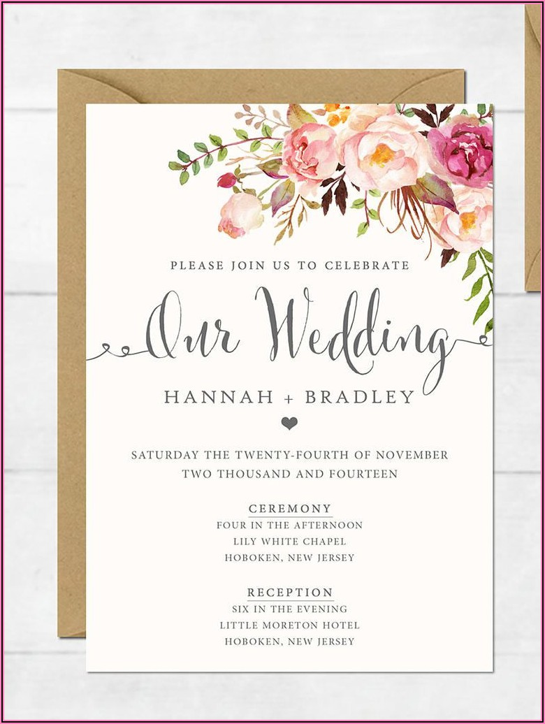 Create My Own Invitations Free