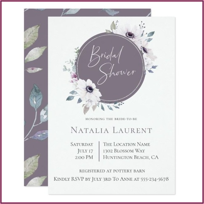 Create Your Own Bridal Shower Invitations Free
