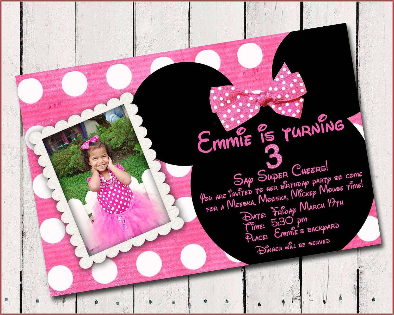 Custom Made Birthday Invitations Free