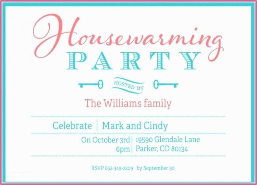 Editable Housewarming Invitation Template Free