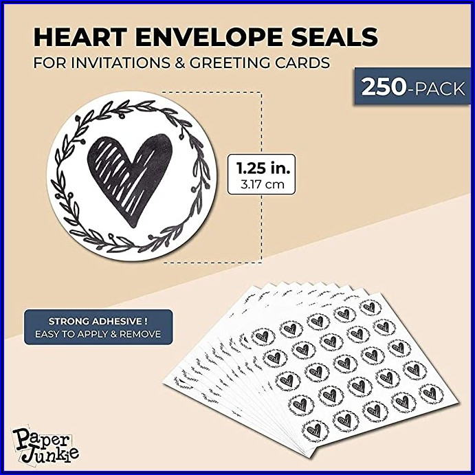Envelope Seals For Wedding Invitations