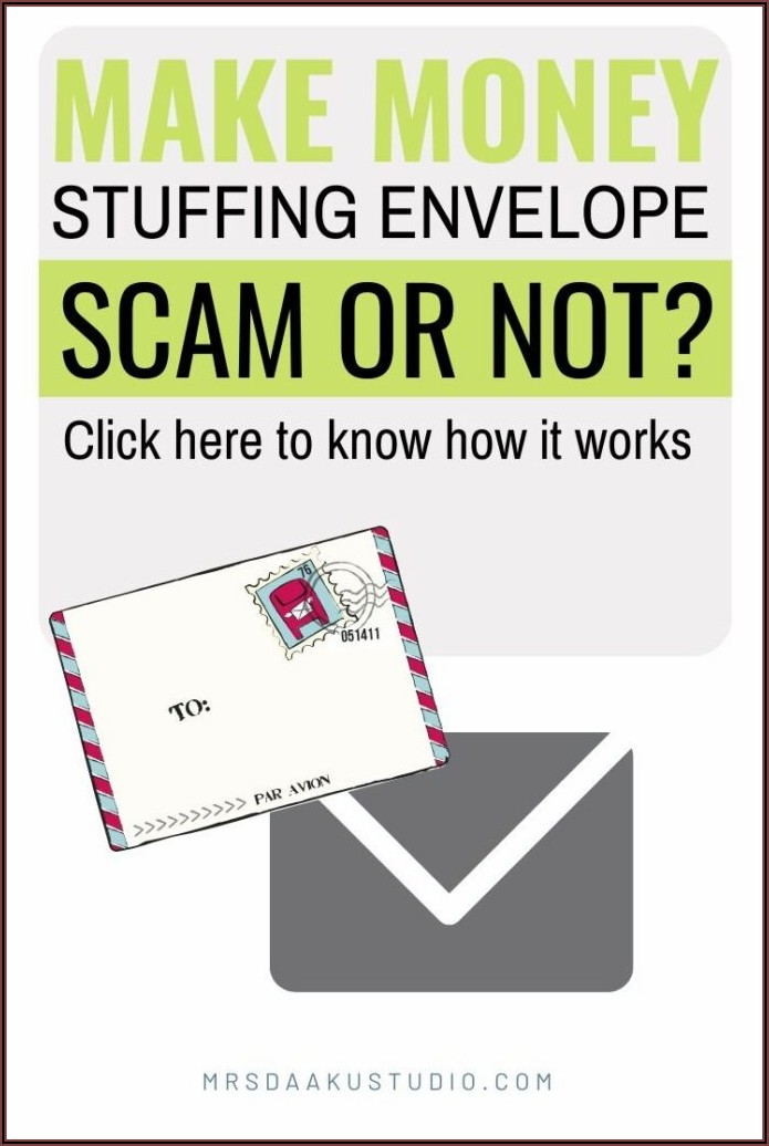 Envelope Stuffing Jobs From Home Uk