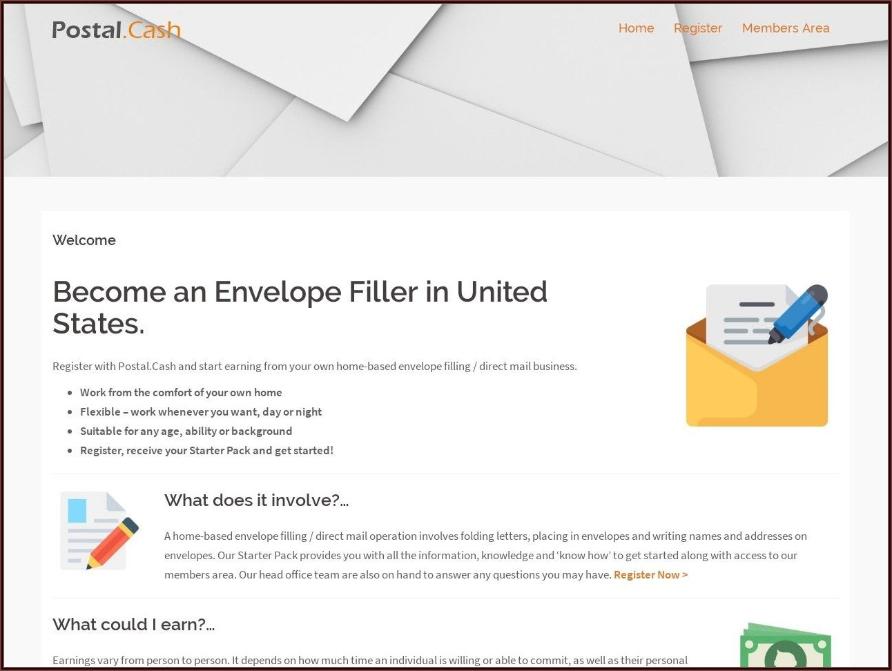 Envelope Stuffing Jobs From Home