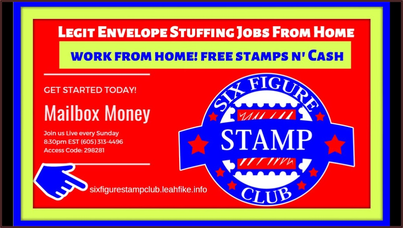 Envelopes Stuffing Jobs From Home Reviews
