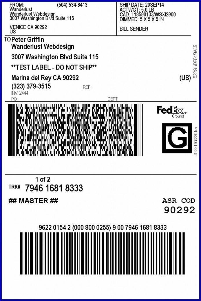 Fedex Prepaid Envelope International