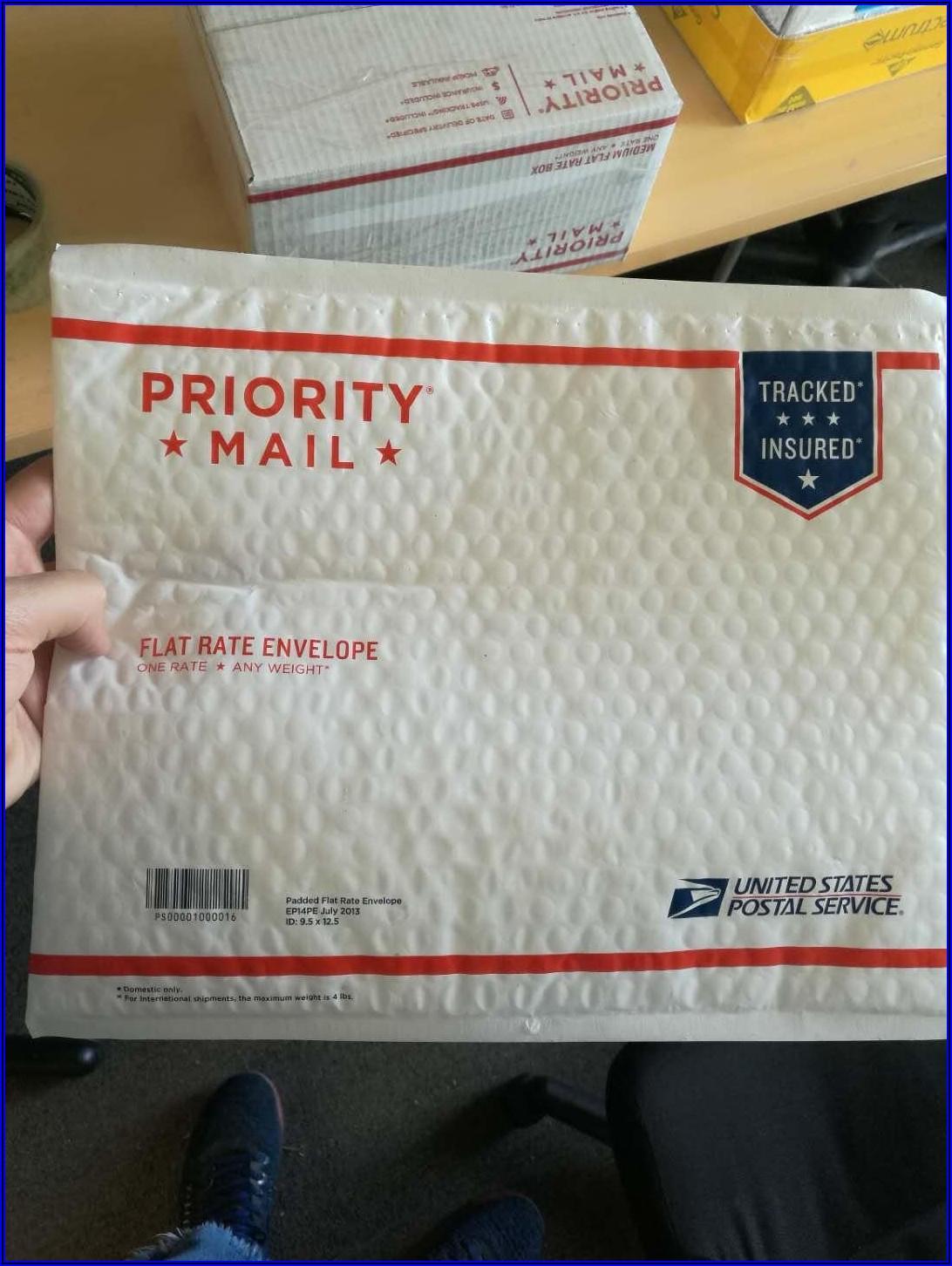 Flat Rate Mailing Envelope Usps