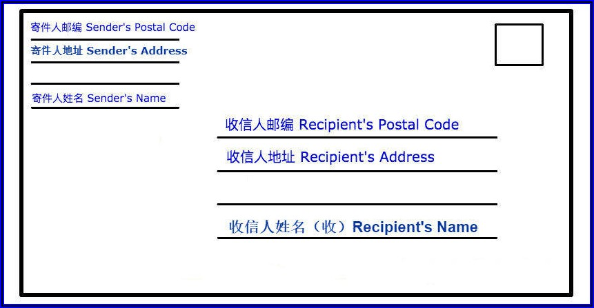 Formal Business Envelope Address Format