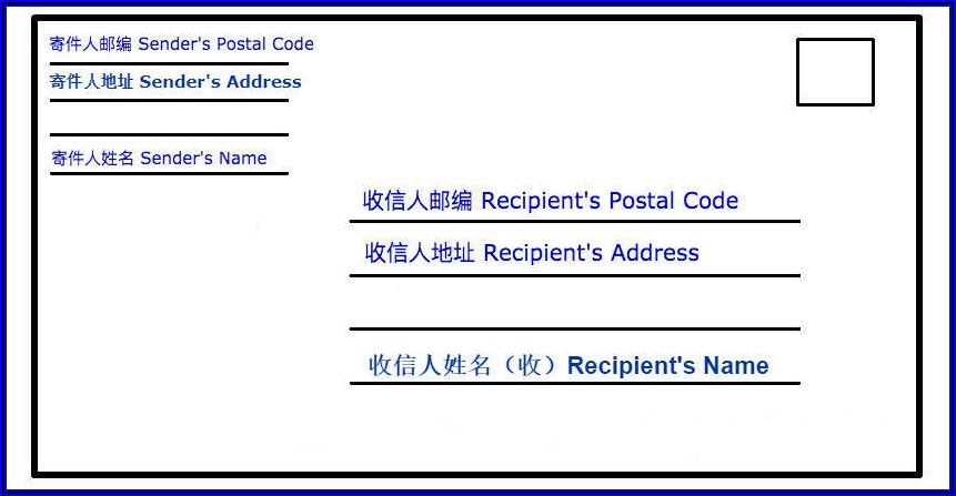 Formal Business Envelope Address Format